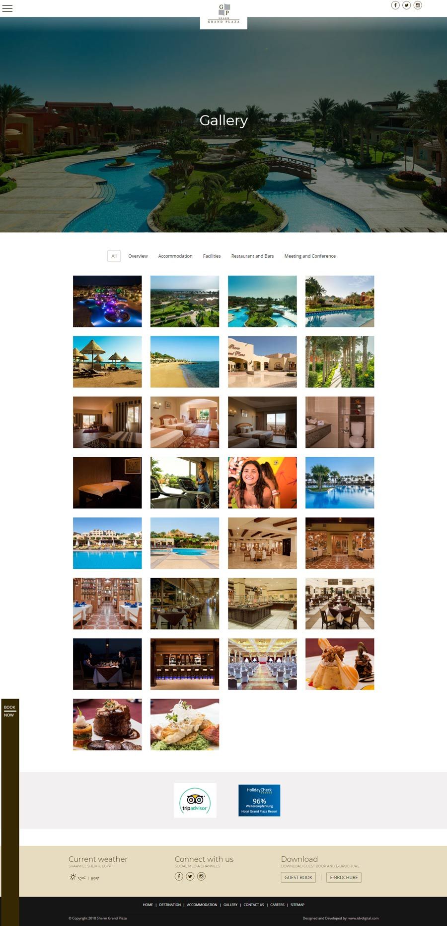 Sharm Grand-Gallery-web development
