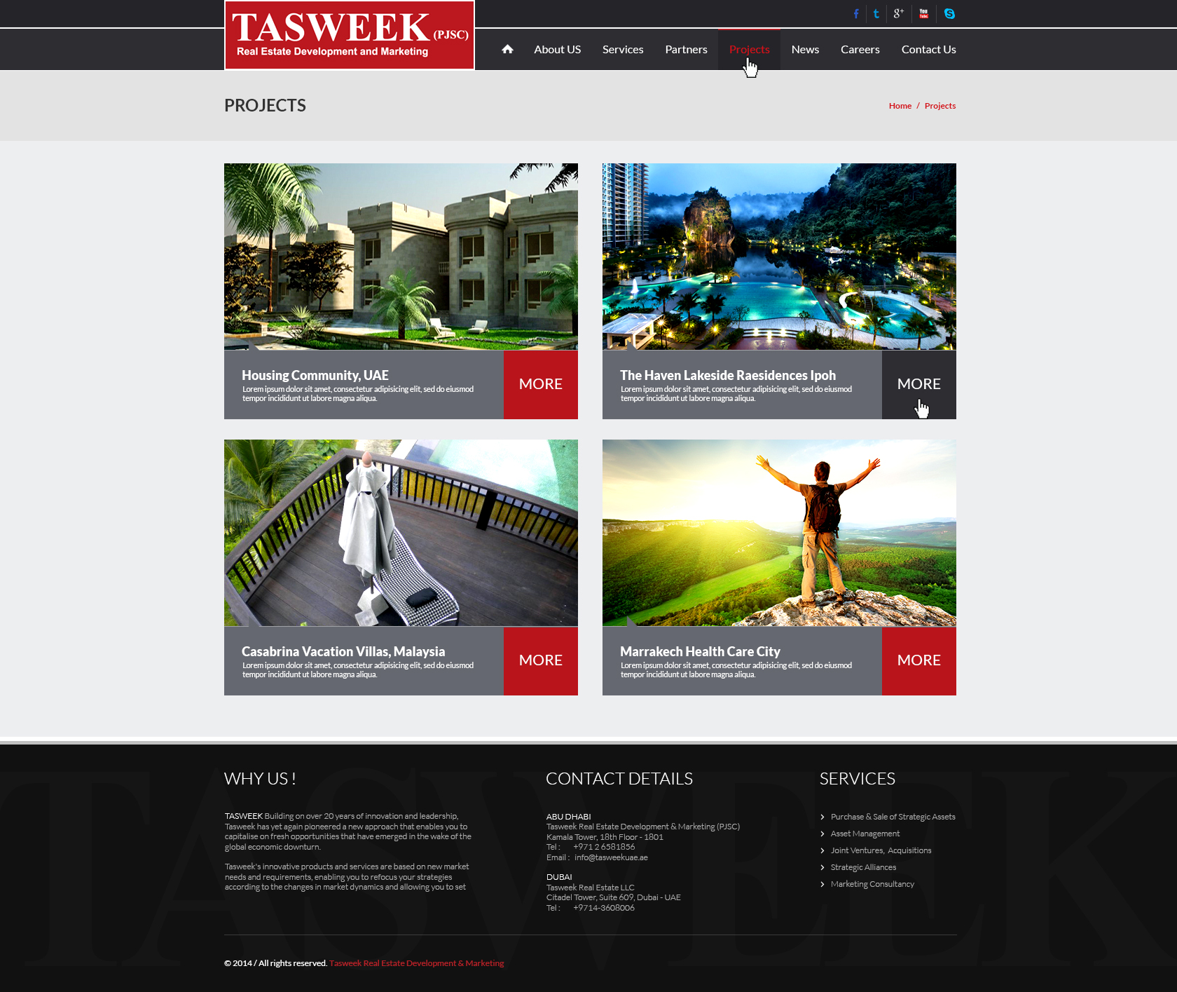 Tasweek - Projects