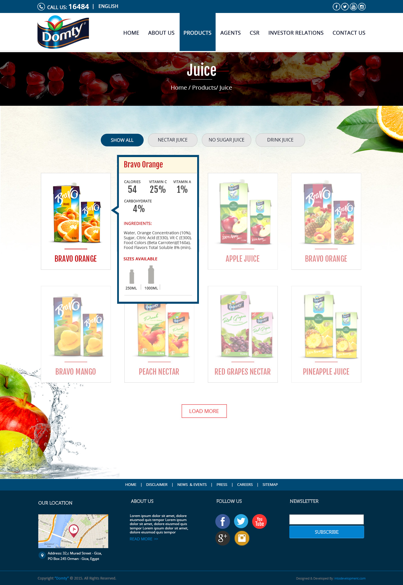 Products-Domty-web design Egypt-web design Doha