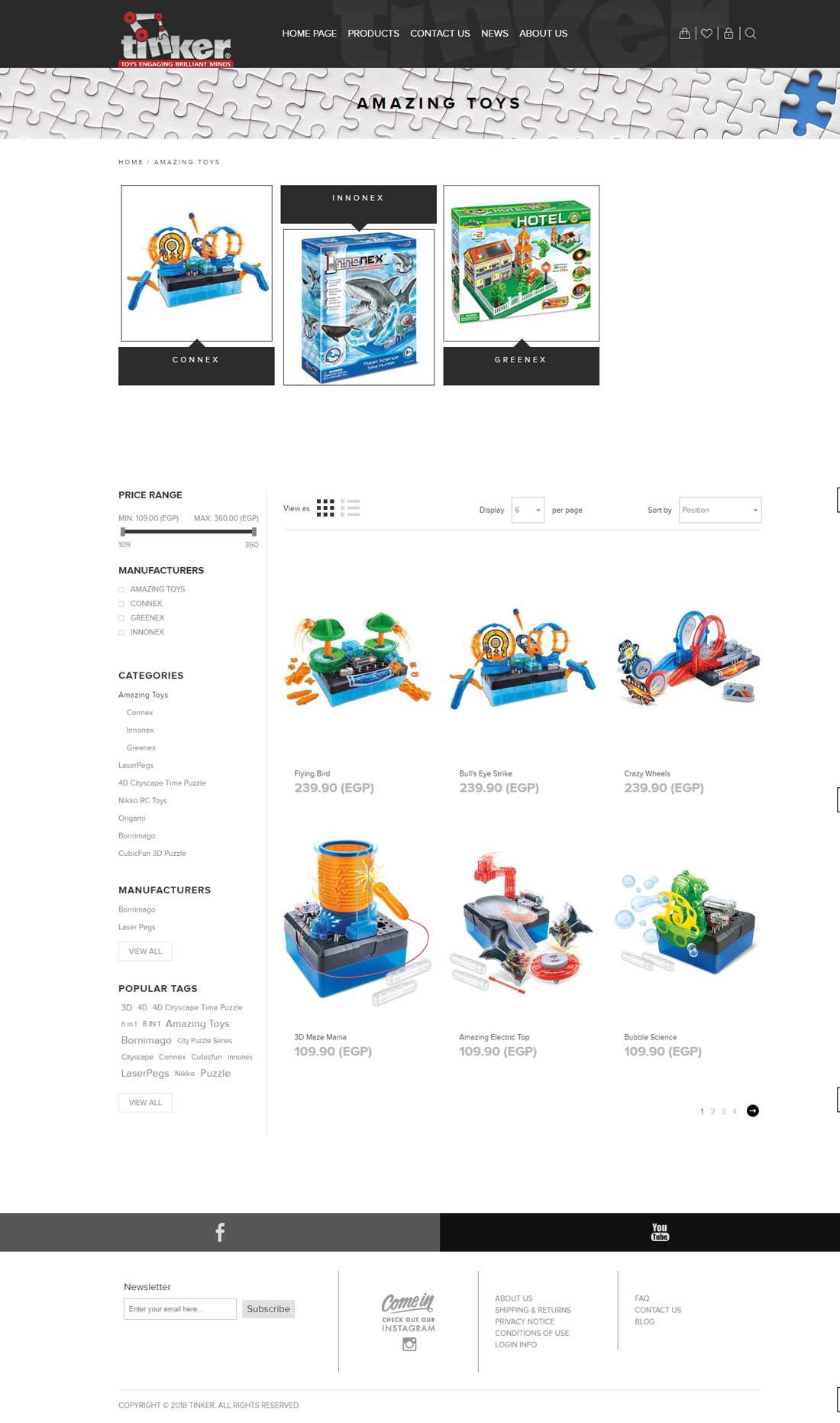 Tinker-toys-web development-Egypt-Doha