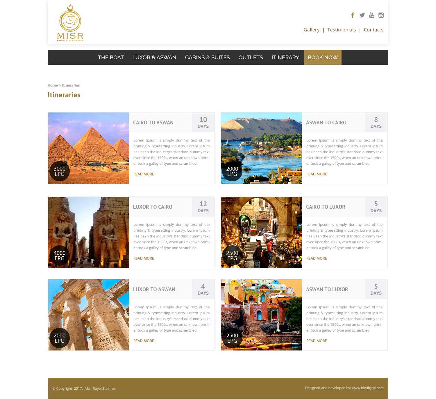 SS Misr- programs-web design Egypt-web design Doha
